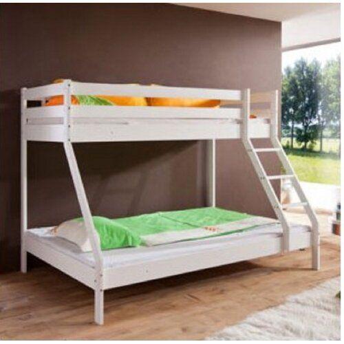 Caufield European Single Bunk Bed Harriet Bee Single Bunk Bed