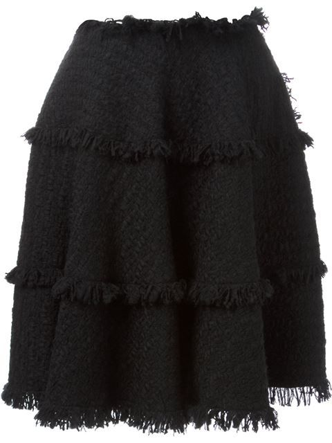Shop Lanvin fringed skirt in Marion Heinrich from the world's best independent boutiques at farfetch.com. Over 1000 designers from 60 boutiques in one website.