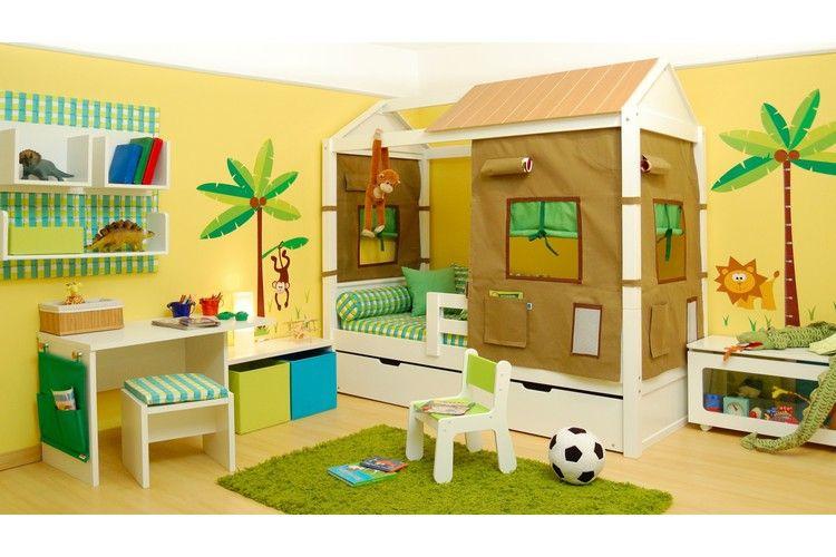 Cama safari on intercasa m veis infantis e juvenis http - Dosel para cama infantil ...
