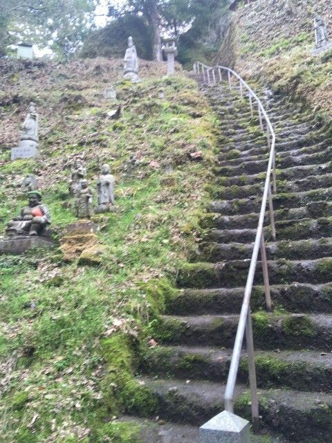 Scalinata per il tempio #Iwaya jinja