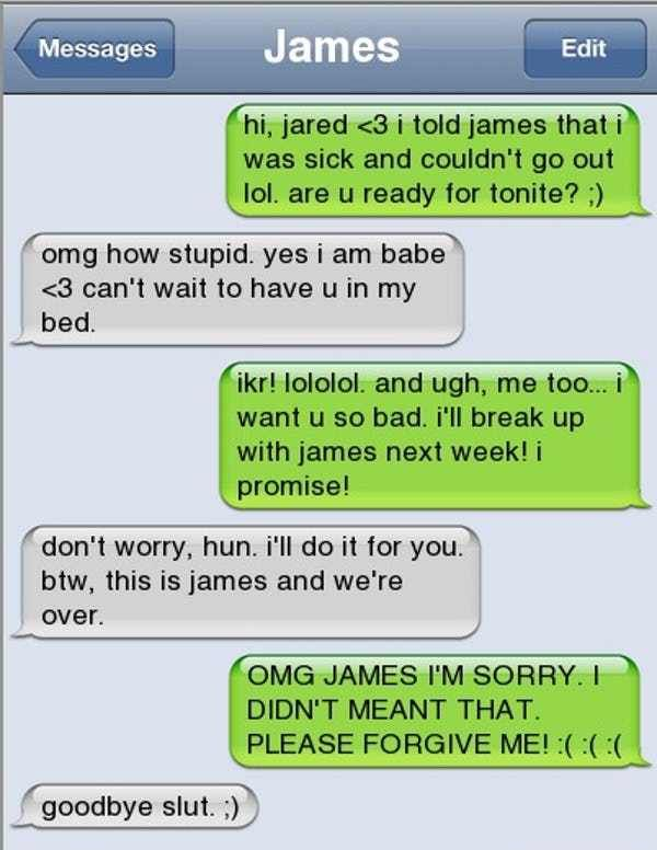 17 Breakup Texts That Are So Awful They Re Amazing Funny Breakup Texts Breakup Humor Funny Text Messages
