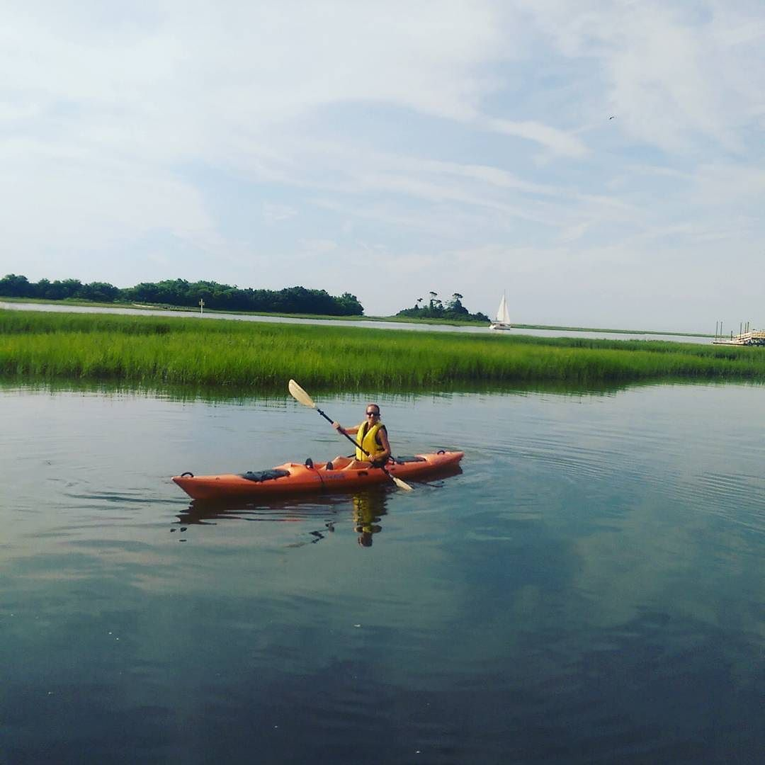 Kayaking today over to Masonboro Island. We're taking a break before the launch of Andes FREE Be Do Succeed Global online conference. http://ift.tt/2tcLrvX  #abundance #prosperity #freedom #beachlife