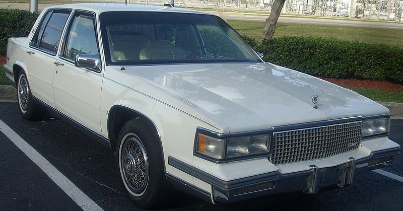 Pin On 1987 Cadillac Sedan Deville With A 3 6 Liter V6 Engine