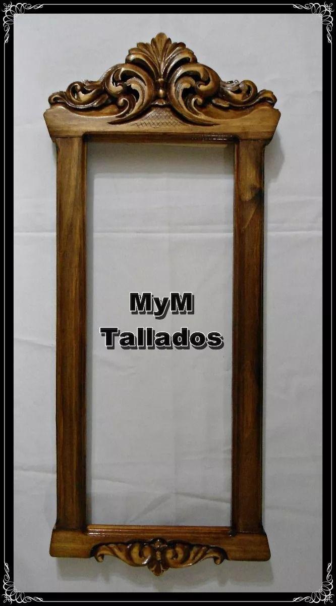 Resultado de imagen para marco para espejo tallado en for Disenos de marcos de madera para espejos