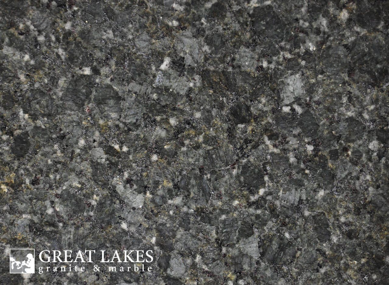 Verde Butterfly Granite From Brazil Is A Green Gray White Black Colored Slab With A Polished Leathere Bathroom Countertops Bathroom Countertops Diy Granite