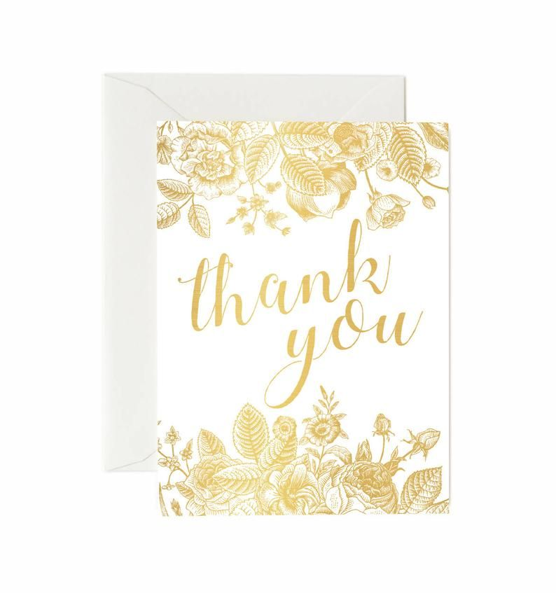 37 blank floral thank you cards white envelopes included