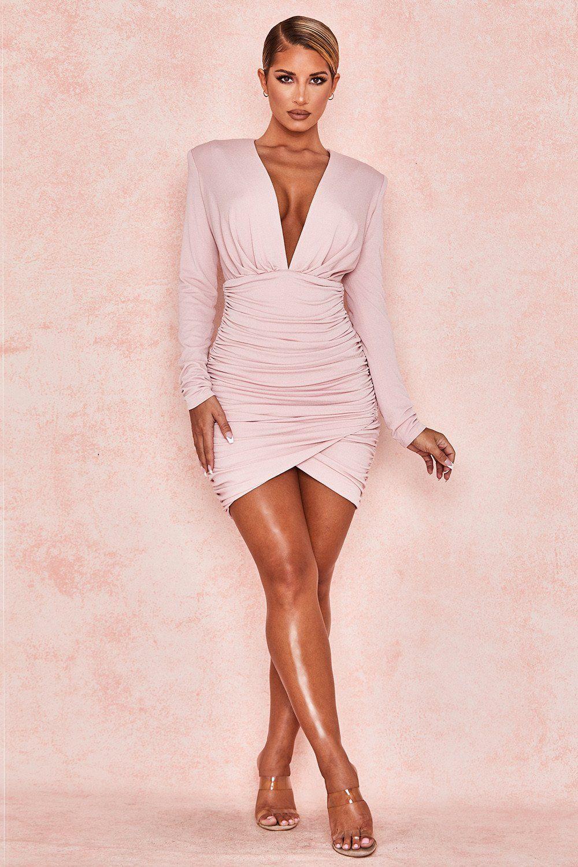 Madeline Dress Get Yours Here Beachsidebunny Com Plunging Neck Dress Long Sleeve Plunge Dress Dresses [ 1500 x 1000 Pixel ]