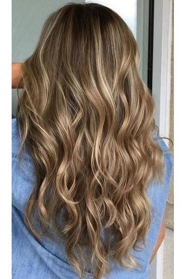 Gorgeous Brown Hairstyles With Blonde Highlights Ashy Brown Hair With Honey Blonde Highlights Brown Blonde Hair Blonde Hair With Highlights Blonde Hair Color