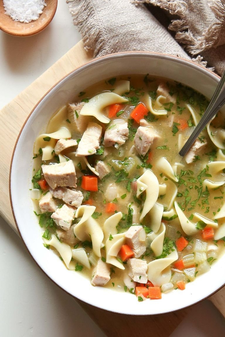 this chicken noodle soup will cure what ails you  recipe
