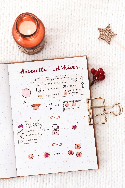 Mon bullet journal pour l'hiver : idées de pages à ...