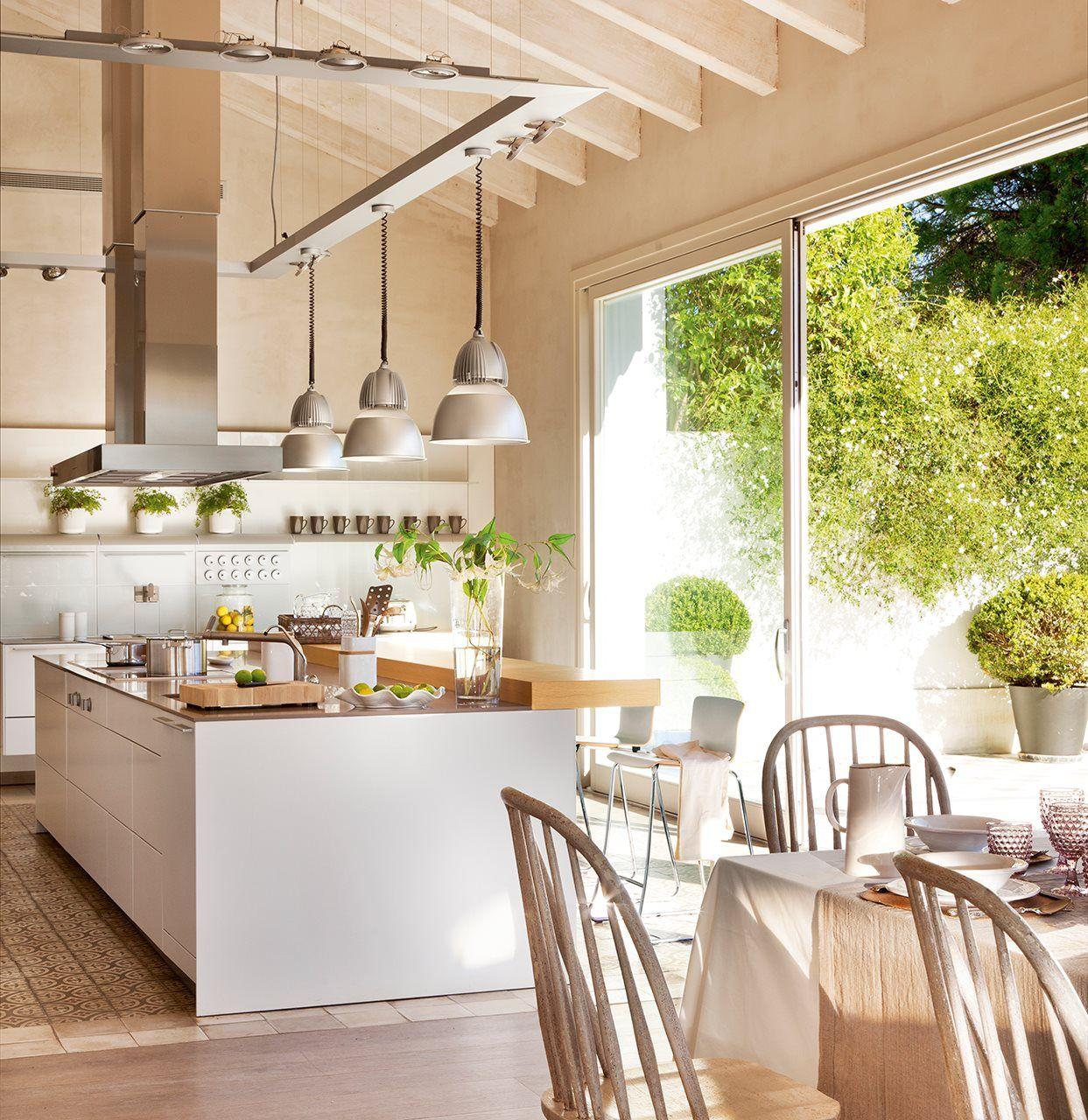 Mil Y Una Ventanas Al Jardin Decoracion De Cocina Moderna Decoracion De Cocina Diseno De Cocina