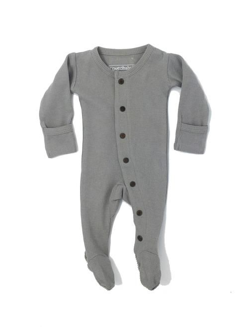 69a9887d5 LOVED BABY ORGANIC THERMAL GLOVED-SLEEVE OVERALL | Beebs | Baby ...