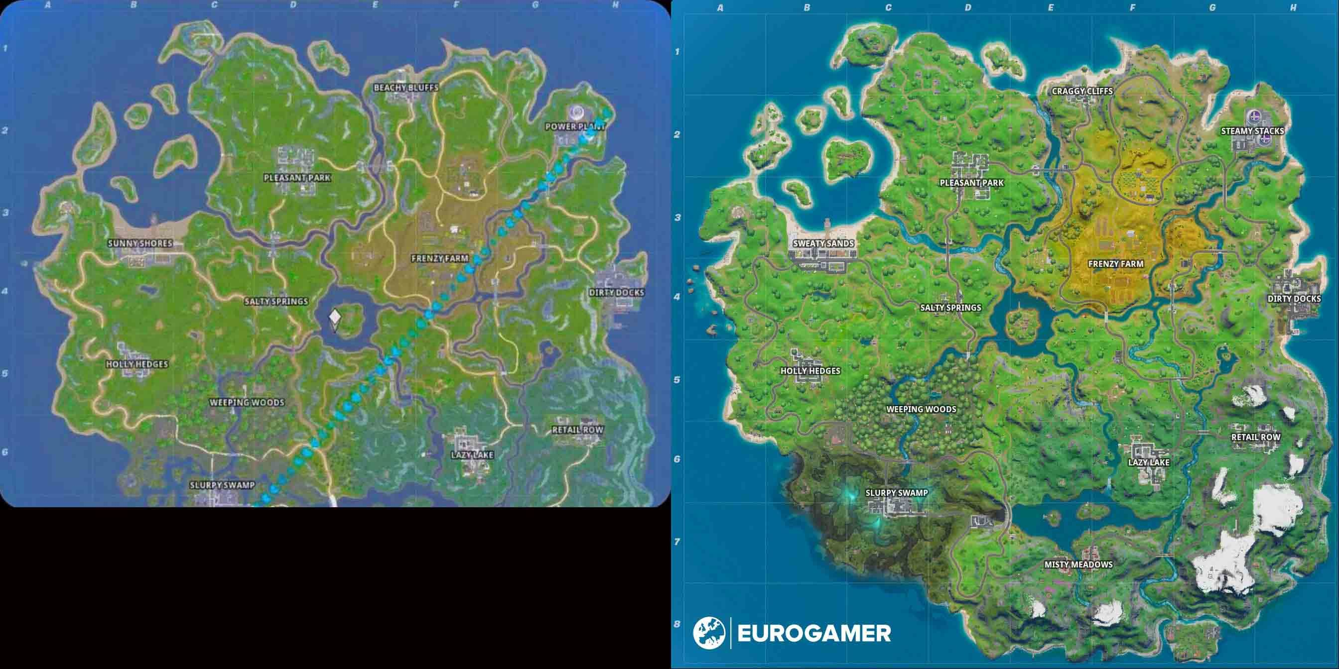 Fortnite The New Map Stolen Online Weeks Ago But No One Believed