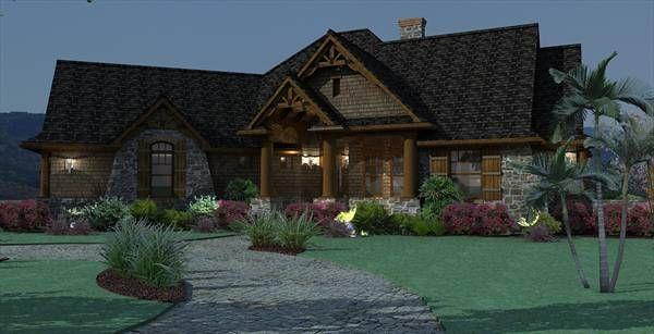 Vita Encantata Captivating Country Style House Plan 1897