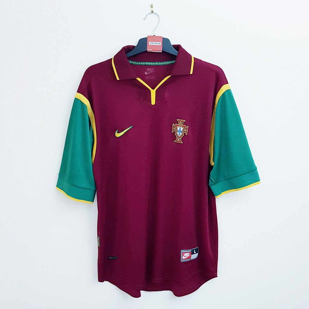 Portugal home football shirt 1998/00 (With images) | Football shirts, Classic football shirts ...