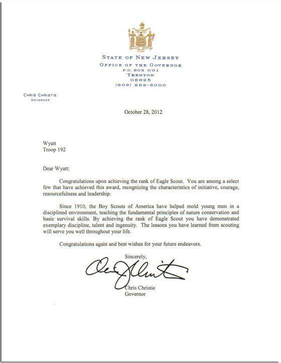 doc3- Documento de transmisión; comunicación el Rey comunica al - eagle scout letter of recommendation