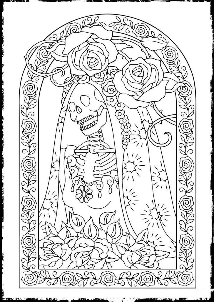 Pin By Bhav On Colouring Pages Skull Coloring Pages Free