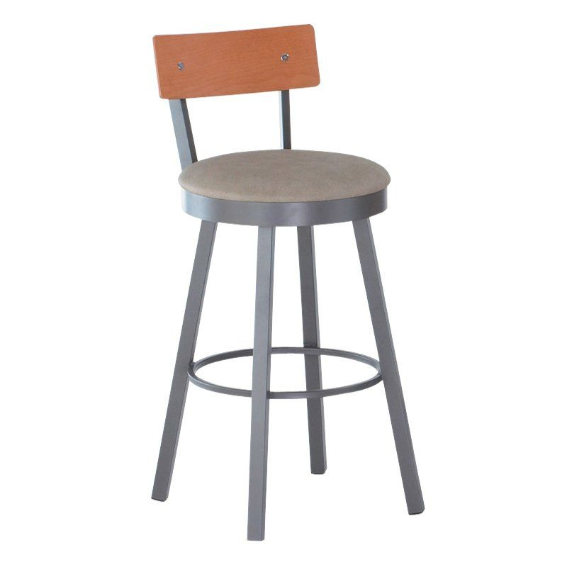 Have to have it. Amisco 30-Inch Lauren Swivel Bar Stool $339.99 ...