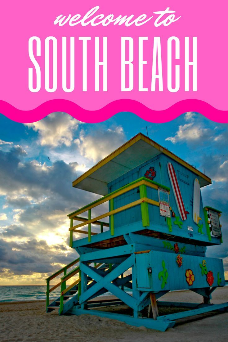 Welcome to South Beach in Miami! From cruising down neon-lit Ocean ...