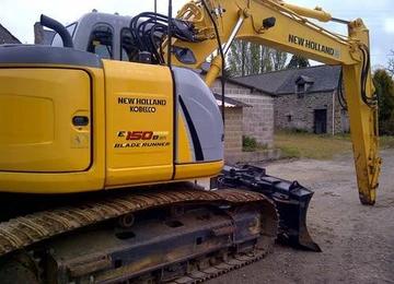 New Holland E150BSR Blade Runner Excavator