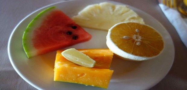 Good Morning Quotes With Fruits: Good Morning Wishes With Fruits Breakfast