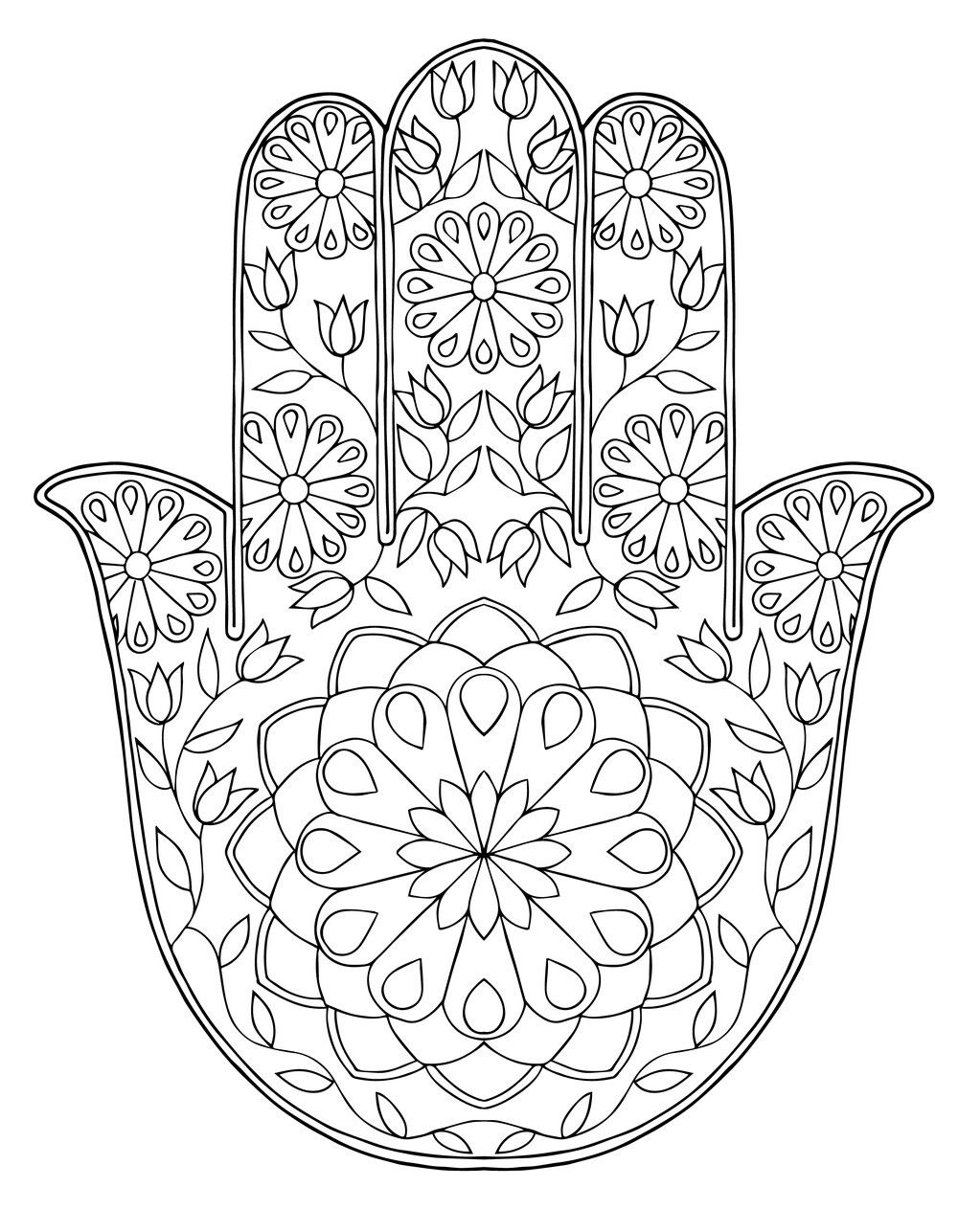 mandala coloring pages of sunday - photo#3
