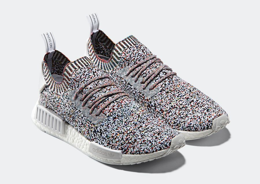 adidas NMD R1 PK Color Static in 2019 | adidas NMD | Adidas