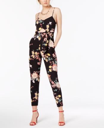 171aef06dd1 Material Girl Juniors  Printed Cutout Jumpsuit in 2019