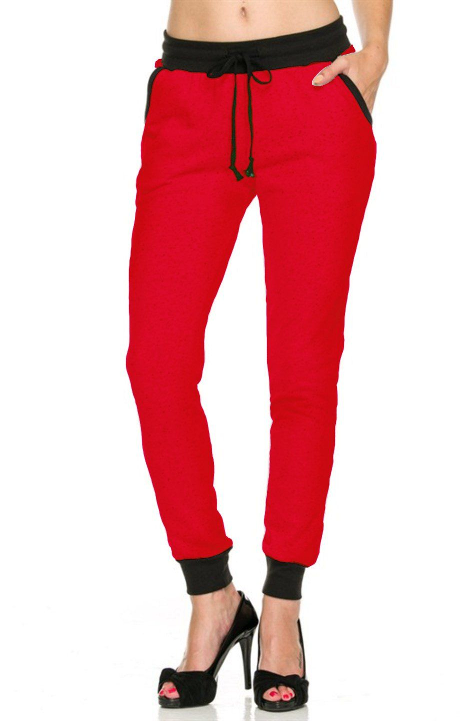 924dc3d27fa 2LUV Women s Comfy And Trendy Drawstring Jogger Pants at Amazon Women s  Clothing store