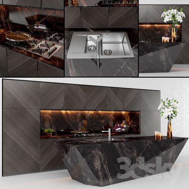 3d models Kitchen Kovinoplastika kitchen