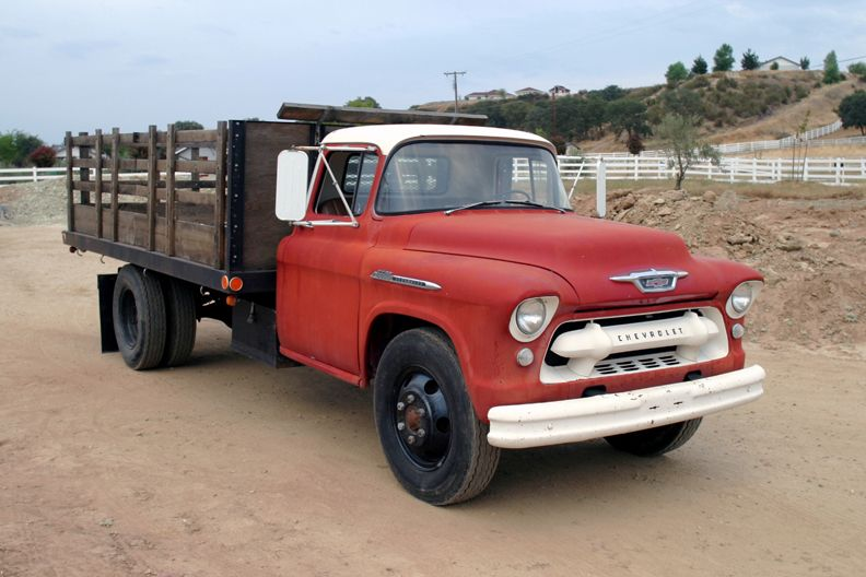 Barby S Street Rods For Sale 1955 Chevy Stake Bed Dump Truck Trucks 1956 Chevy Truck Chevrolet Trucks