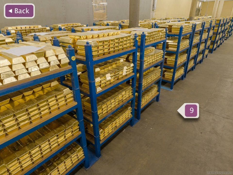 Bank Of England Museum In London Greater London Gold Bullion Bars Gold Bullion Coins Gold Bullion