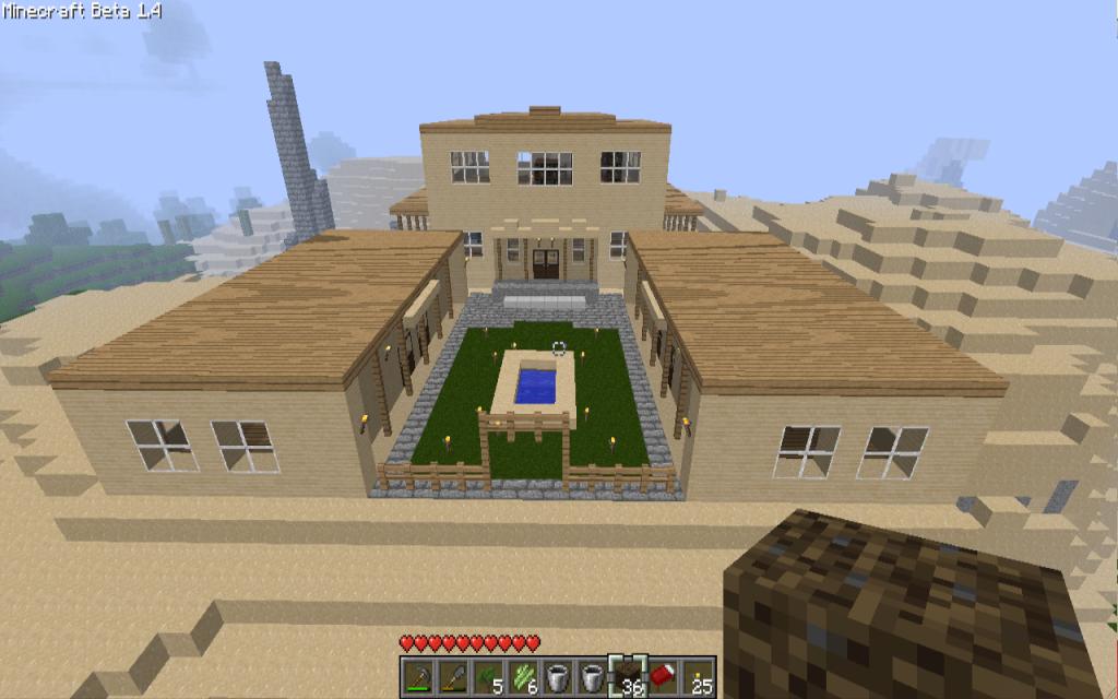 Desert Garden Minecraft - Garden Inspiration