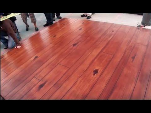Wood Concrete How To Make Concrete Look Like Wood