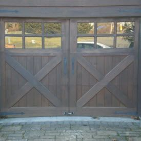 Custom Wood Door From Overhead Door Image 11 Wood Garage Doors Custom Wood Garage Doors Custom Wood Doors