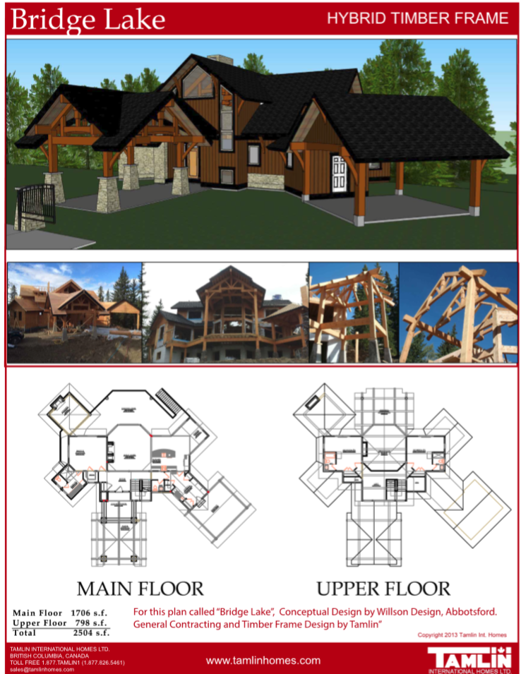 Plans Above 2500 Sq.Ft in 2019 | Timber frame homes, House ...