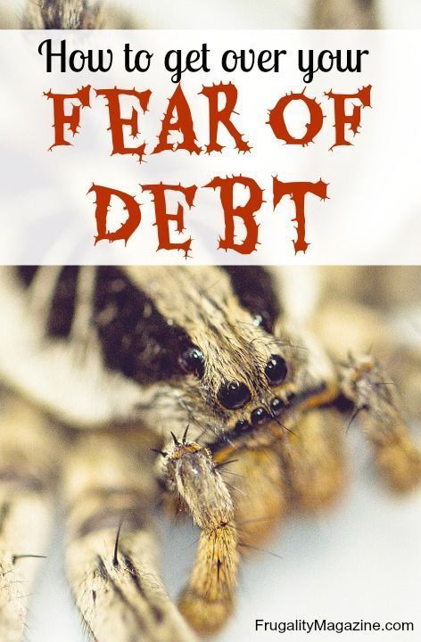 Debt can be a scary subject, but that doesn't mean you shouldn't tackle it. Here's how to get over your fear and debt and finally become debt free once and for all! Debt Payoff Tips, #Debt Debt Payoff Tips, #Debt