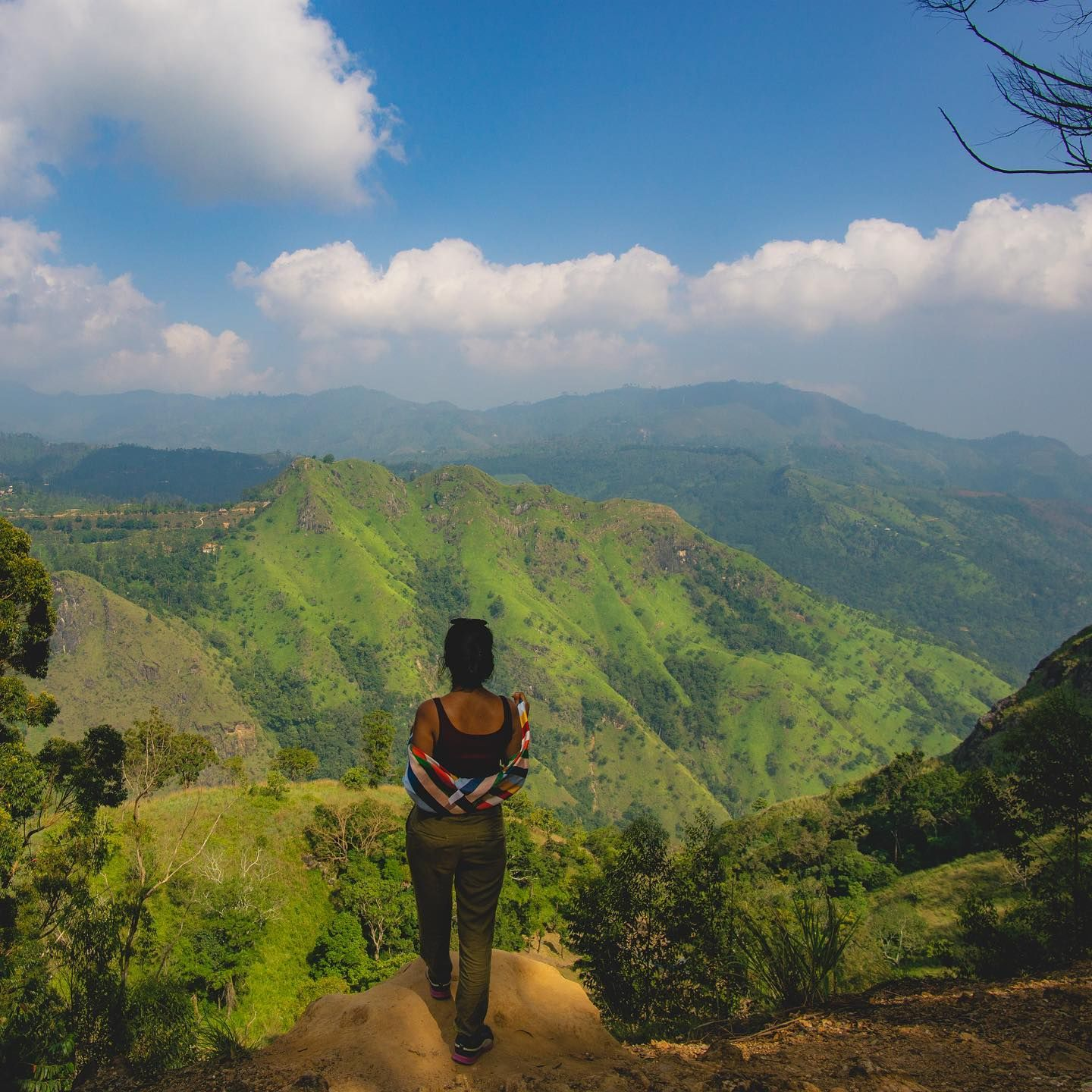 The Reason Why We Chose Ella Was To Explore The Mountain Side Of The Island Country Sri Lanka Ella Rock Was One Of The Pla In 2020 Travel Pose Travel Travel Instagram