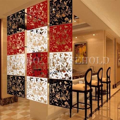 plastic hanging screen partition room divider butterfly flower