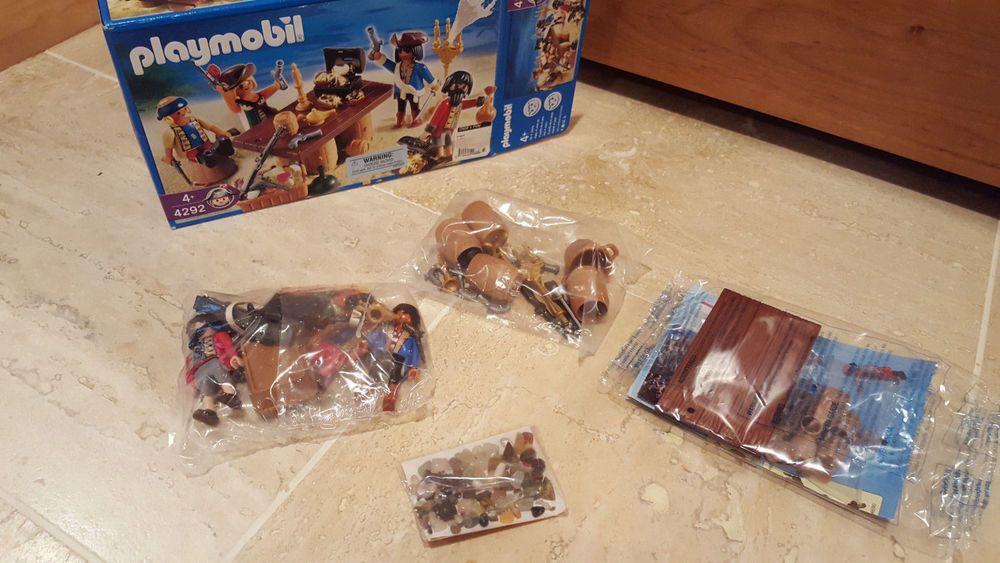 Playmobil #4292 Pirates Gang Crew Set 2006 Germany with extra pirates NEW SEALED #Geobra