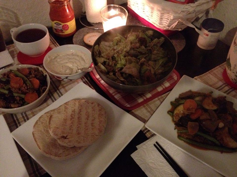 #Pita#Hackfleisch#Gemüse#
