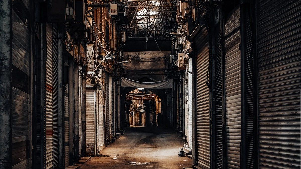 Grand Bazaar Tehran en 2020