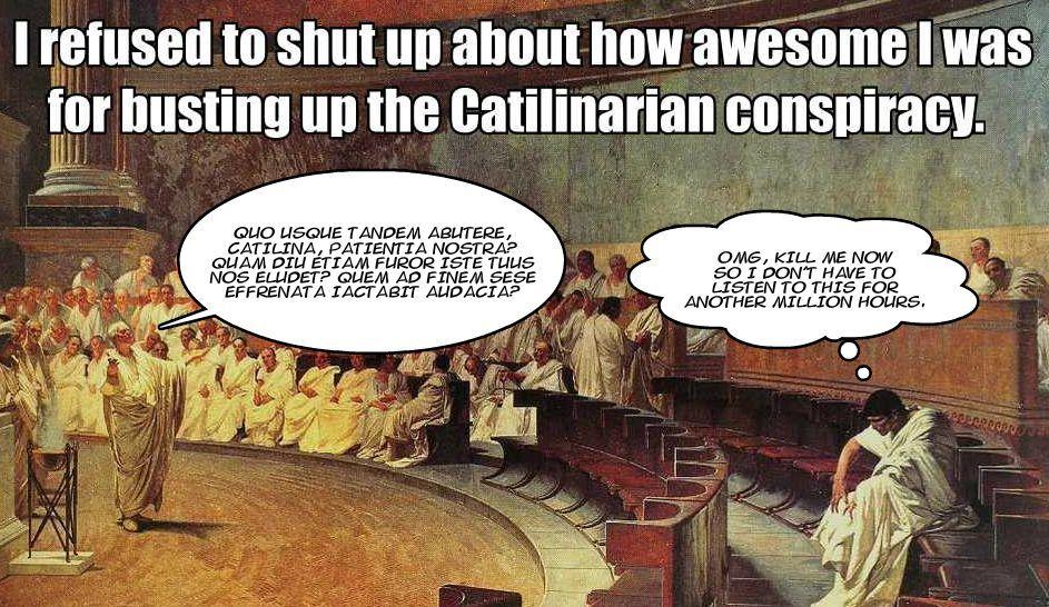 Risultati immagini per catilina conspiracy comics