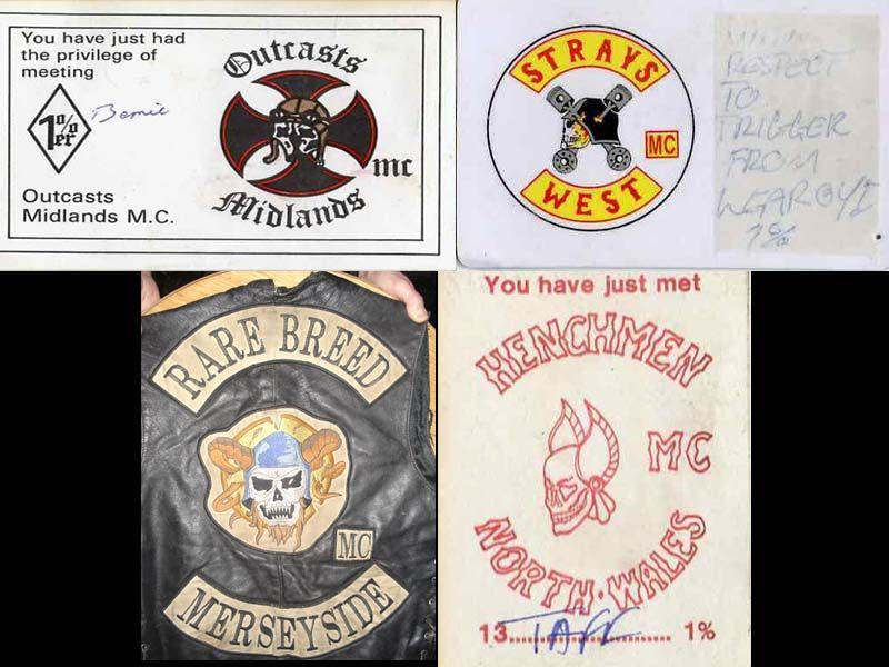 The other 4 clubs that Became the OUTLAWS MC ENGLAND | OFFO