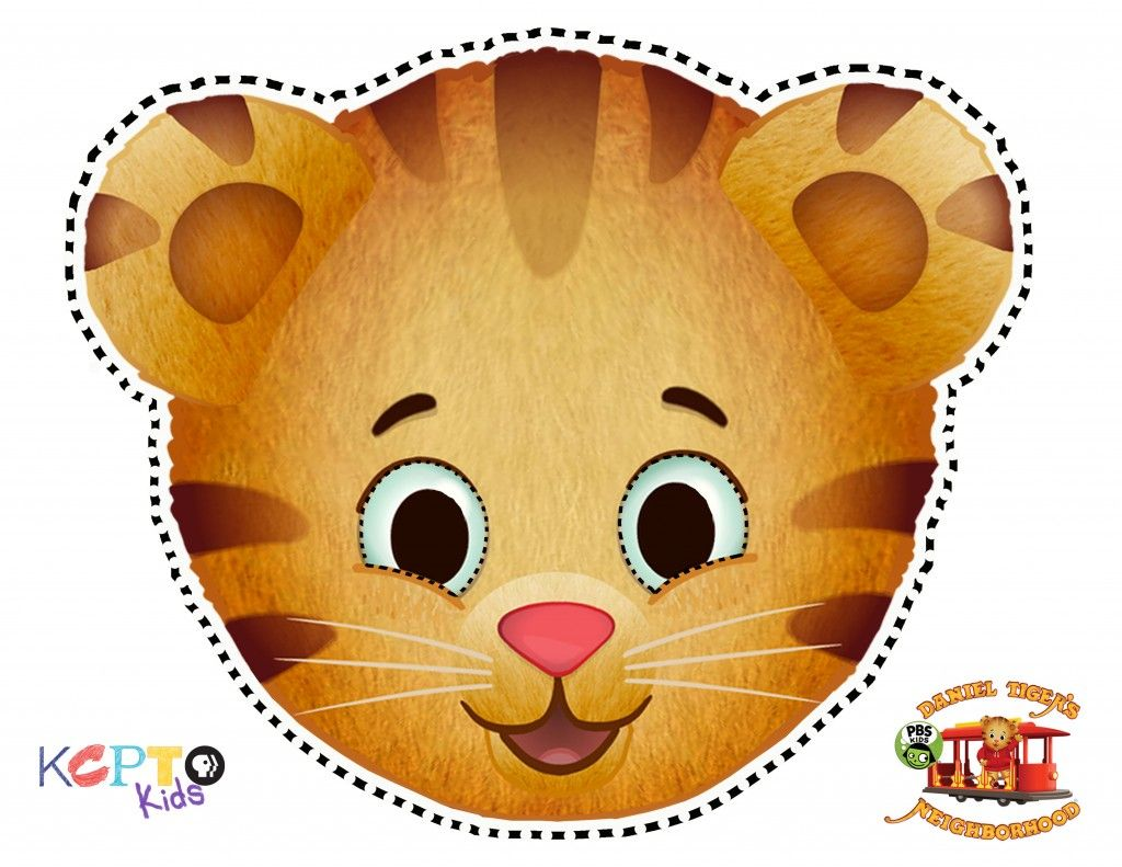 daniel tiger maskweb daniel tiger party pinterest daniel