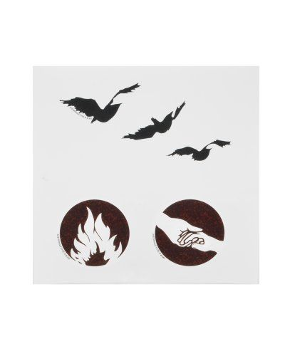 Neca divergent tris 39 s tattoos temporary tattoo set neca for Divergent tattoo tris