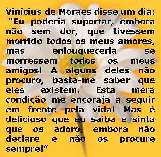 Vinicius De Moraes Vinicius De Moraes Pinterest Citações