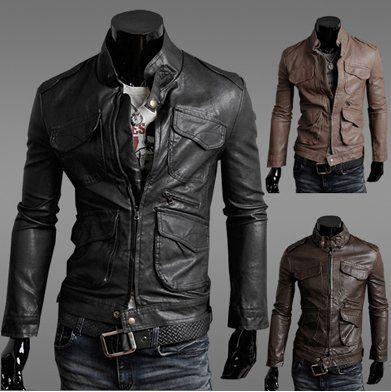 Stylish Leather Jackets For Men - JacketIn