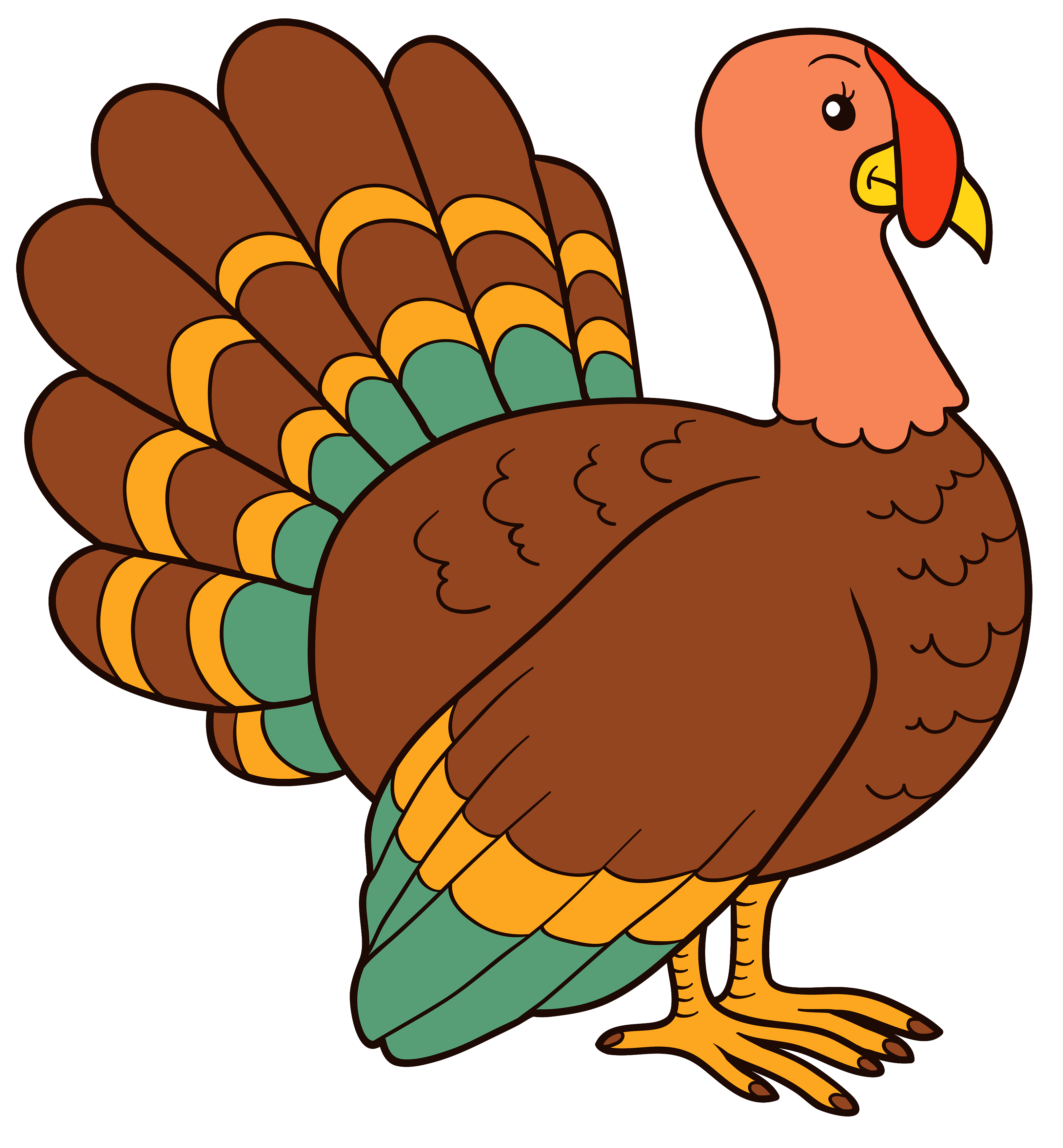 Turkey PNG Clipart Image - Best WEB Clipart | Drawing ...