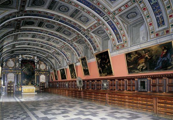 Real Sitio De San Lorenzo De El Escorial Escorial Monasterio Del Escorial España Cultura